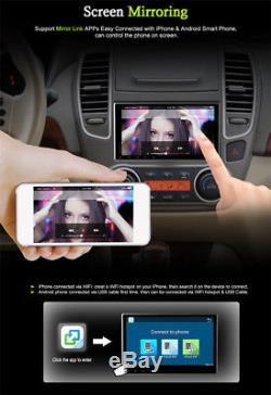 10.1 1080P 2Din Touch Screen Car Stereo Radio DVD GPS Wifi Mirror Link TPMS TV