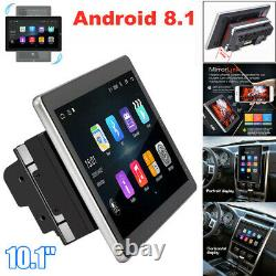 10.1 Android 8.1 Bluetooth Car Radio Audio GPS MP5 Player Double 2DIN WiFi USB