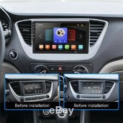 10.1 Android 8.1 Single 1Din Car Stereo Radio GPS Wifi OBD2 Mirror Link Player