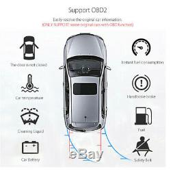 10.1 Android 9.1 Quad-core 1 Din Car Stereo Radio GPS Wifi Touch Screen Player