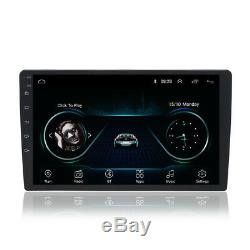 10.1'' Double DIN In-Dash Bluetooth Car Stereo Receiver Touch Screen TV TPMS FM