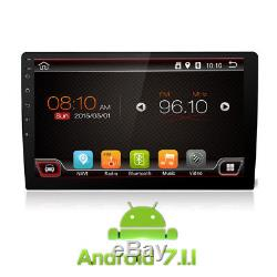 10.1 Touch 1Din Android 7.1.1 Car Stereo Radio Player 3G/4G WiFi GPS Navigation