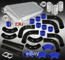 12 Piece 3.0 Piping Kit + Turbo Fmic Front Mount Intercooler + Couplers + Clamp