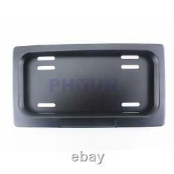 2 Electric Powered License Plate Frame Shows & Hides Automatically With Remote