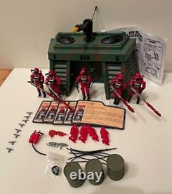 2010 GI Joe Convention JoeCon Red Shadows base and Red Torches exclusive pin lot