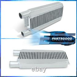 23 x 11.25 X 2.75 Aluminum Front Intercooler System Tube & Fin 2.5 Same Side