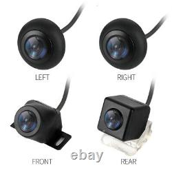 360° HD Bird View 4 Camera Car Parking Helper Shock Alarm Real Time Monitored