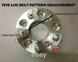 4 Wheel Adapters 5x100 To 5x4.75 1 Thick Converts 5x100 To 5x120.7