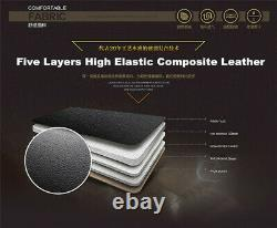 5-Seats Universal Car Front+Rear Full Surround PU Leather Seat Cover Cushion Kit