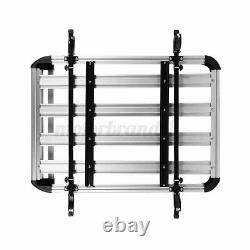 50''X 38'' Universal Black Roof Rack Cargo Carrier with Extension Luggage Holder