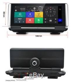 6.86 Touch Screen Full HD Car SUV DVR Video Recorder Bluetooth Wifi Android 5.0