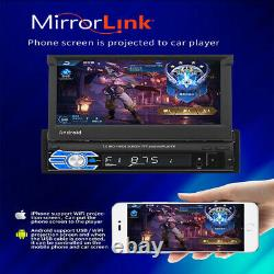 7'' 1DIN Android Navi 1+16GB Car Stereo Radio MP5 Player GPS for Android& iOS