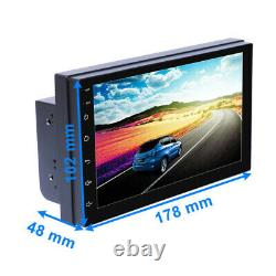7 2 DIN Android 8.1 1080P Car GPS Bluetooth Wifi Stereo Radio FM MP5 Player DVR