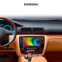7'' 2DIN Touch Screen Car Video Radio Stereo MP5 Player +GPS Bluetooth AM RDS BT