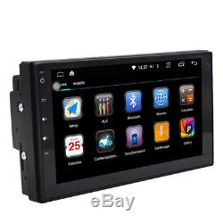 7 Android 6.0 4G WiFi In-dash 2din Car Radio GPS Stereo Bluetooth No DVD Player