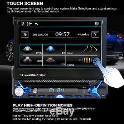 7 HD Touch Screen 1Din FM Radio CD/DVD MP5 Player Bluetooth with Remote Control