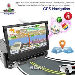 7 Inch 1080P Android 8.1 Touch Screen Video In-Dash Units With GPS Mirror Link