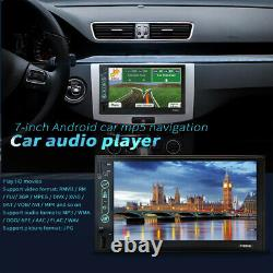 7Inch Car MP5 DVD Player GPS Radio 2 DIN Stereo Touch Screen USB/TF Android6.0