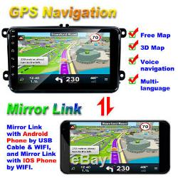 8 inch 2-Din Android 8.1 Car Stereo Radio Multimedia Player GPS Navi WiFi 1G+16G