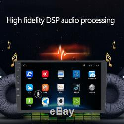 9 Single Din Android8.1 Car Stereo GPS DVD WiFi 1G+16G Player Height Adjustable