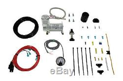 Air Lift 25854 LoadController On Board HD Air Compressor Kit, Single Path