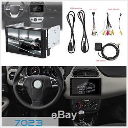 Android 6.0.1 Car Radio Player GPS Navigation 2Din Quad-Core Ultra-thin WiFi DVR
