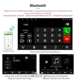Android 9.1 HD 10.1in 1DIN HD Car Stereo Radio Player WIFI GPS Mirror Link OBD
