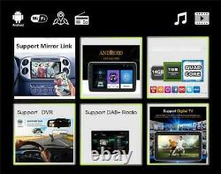 Android 9.1 Touch Screen 10.1 Car Stereo Radio MP5 Player Kit GPS/Wifi/FM/USB