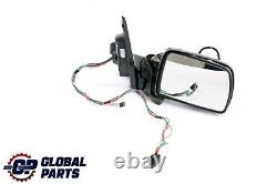BMW X5 Series E53 Sport High Gloss Heated Right Door Wing Mirror O/S Base