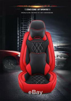 Car Seat Cover Full Surround Breathble Leather Cushion For Interior Accessories