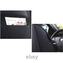 Deluxe Edition Seat Cover Cushion PU Leather Breathable Fit For Standard Car