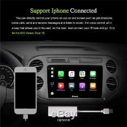 Double 2 Din 4 Core Android 6.0 4G LTE Wifi GPS Car Radio player 2G RAM 16GB ROM