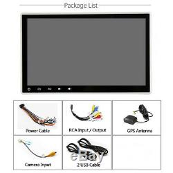 Double Din 9 Android 8.0 Car Stereo Radio GPS 3G/4G WIFI OBD Multimedia 1+16G