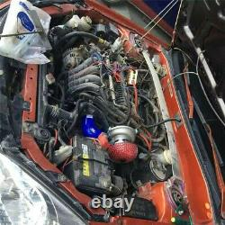 Electric Turbo Supercharger Reduce Fuel Consumption Turbocharger Kit US Shipping