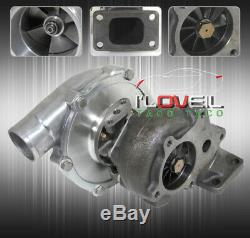 For T3/T4 T3 T4 Ball Bearing Upgrade Turbo Charger Boost. 63 A/R Air Ratio T04E