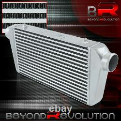 Front Mount Turbo/Supercharger Intercooler 27.25X11X3 Bar&Plate 3 Inlet/Outlet