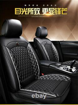 Front&Rear Full Car Seat Cover Seat Protection Car Accessories For 5-seat Car