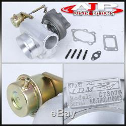 Gt30 Water/Oil Cooled Wastegate Turbo Charger For 240Sx 300Zx S13 S14 350Z 370Z