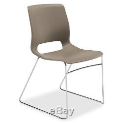 Hon Motivate Sled-based Stacking Chairs Polypropylene Shadow Seat