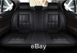 Luxury 3D Universal Car Seat Cover PU Leather 5-Seat For Auto Chair Cushion