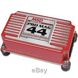 MSD 8145 Pro Mag 44 Amp Electronic Points Box, Red