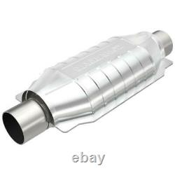 Magnaflow 91005 2.25 Universal Catalytic Converter Oval 2.25 In/Out