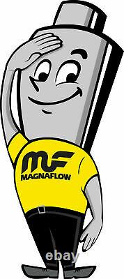 Magnaflow 91005 Universal High-Flow Catalytic Converter Oval 2.25 In/Out