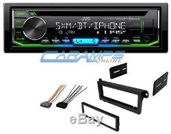 NEW JVC CAR STEREO AUX/USB INPUTS RADIO CD PLAYER & BLUETOOTH With INSTALL KIT