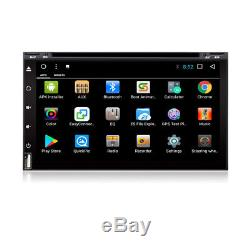 Octa-Core Android 8.1 2 Din 7 Car GPS Nav Stereo Radio Wifi 4G DVD Player 2+32G