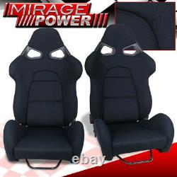 One Pair Full Reclinable Cuga Style Racing Seat For Drag, Track, Circuit, Drift