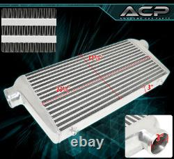 Performance High Flow FMIC Front Mount Intercooler 31X11.75X3 For BRZ FRS 86