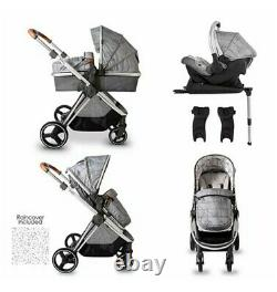 Red Kite Push Me Pace Shadow Travel System (2021 Model) with isofix base