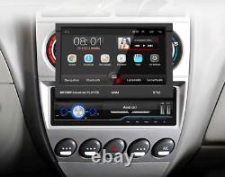 Retractable Android8.1 Single Din Car GPS FM Radio Mirror Link Player Wifi 7