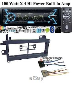 Sony Car Stereo Radio Bluetooth Cd Player With Dash Install Kit